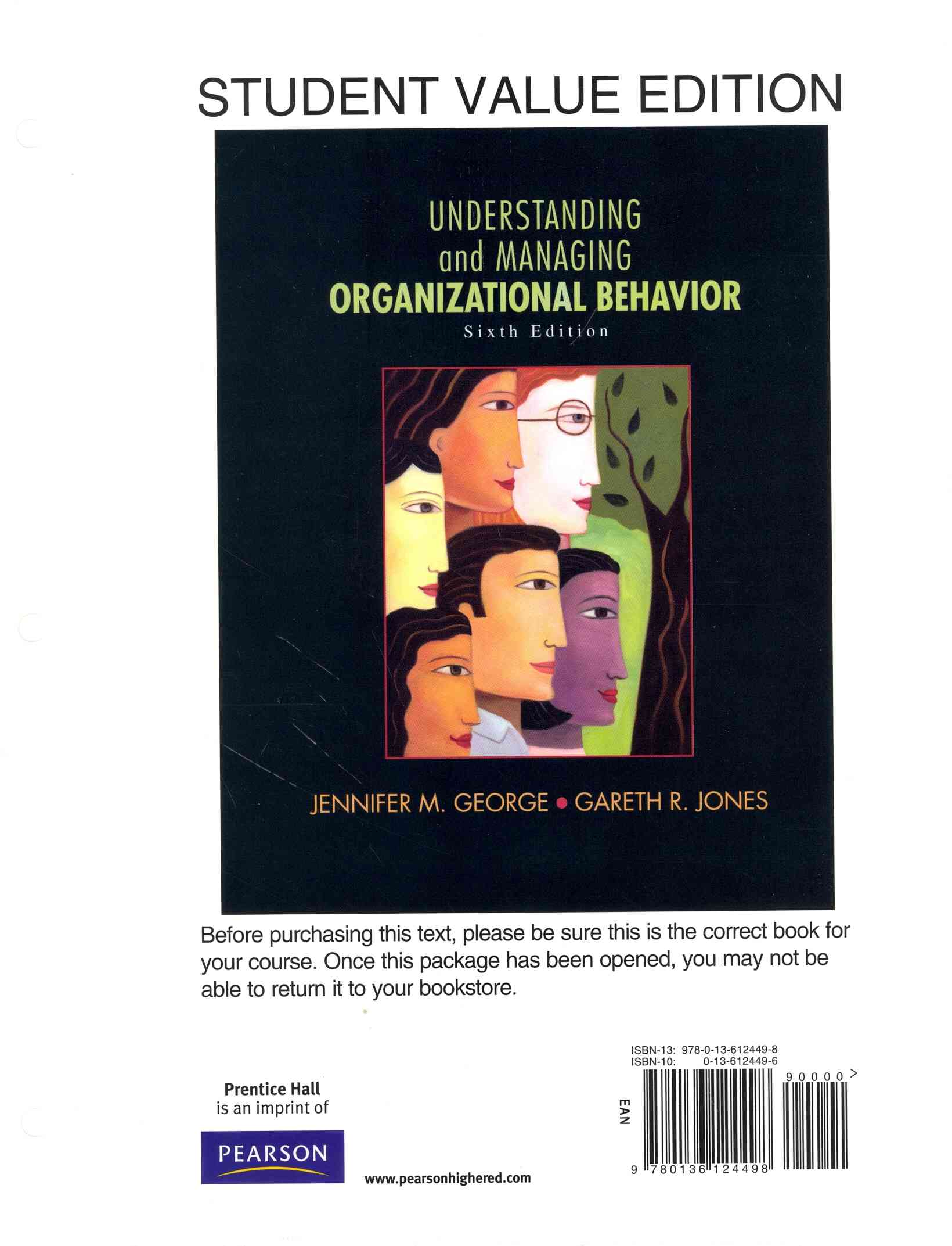 Understanding and Managing Organizational Behavior + 2014 Mymanagementlab With Pearson Etext Access Card Package By George, Jennifer M./ Jones, Gareth R.